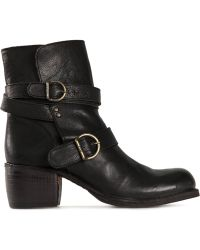 Fiorentini + Baker 'Moky' Buckled Boots - Lyst
