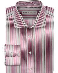 Etro Variegated-stripe Poplin Shirt - Lyst