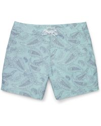 Club Monaco 6 Paisely Board Short - Lyst