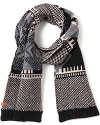 Bickley + Mitchell - Lambswool Pattern Scarf - Lyst
