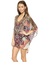 Camilla Short V Neck Caftan - One To Cherish - Lyst