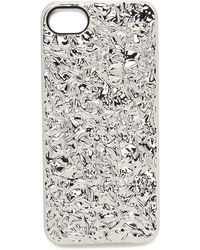 Marc By Marc Jacobs Foil Iphone 5  5s Case  Blueglow - Lyst