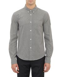 Band Of Outsiders Micro Checkpattern Shirt - Lyst