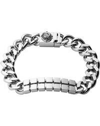 Diesel Gray Bracelet - Lyst