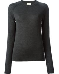 Forte Forte Round Neck Fitted Sweater - Lyst