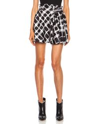 Kenzo Poly Skirt - Lyst
