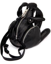 Christopher Raeburn Hare Leather Shoulder Bag - Lyst