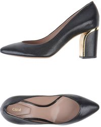 Chloé Black Pump - Lyst