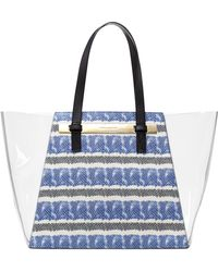 Vince Camuto Jace Clear Tote - Lyst