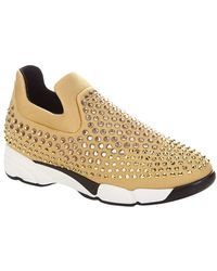 Pinko - Turbine Embellished Trainer - Lyst