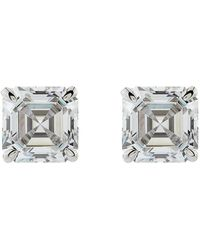 Carat* - 0.5ct Asscher Stud Earrings - Lyst