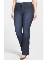 Nydj 'Billie' Stretch Mini Bootcut Jeans - Lyst