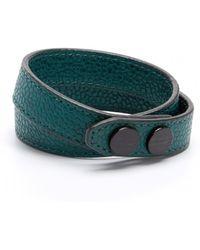 Ben Minkoff Blue Wrap Bracelet - Lyst
