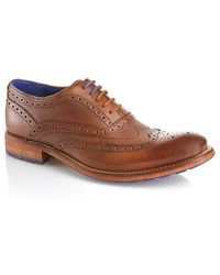 Ted Baker Guri 7 Leather Brogue Wingtip Oxfords - Lyst