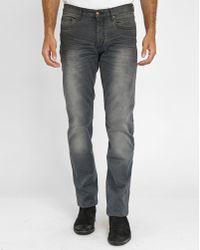 Ikks Faded Grey Slim-fit Jeans gray - Lyst