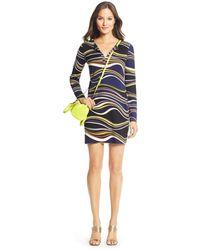 Diane von Furstenberg Reina Silk Jersey Tunic Dress - Lyst