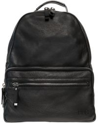 Diesel Black Gold - Grained Leather Backpack - Lyst