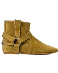 Etoile Isabel Marant 'Ralph' Suede Ankle Boots - Lyst