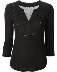Gucci Arabesque Neck Top - Lyst
