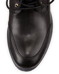 Donald J Pliner Danti Laceup Ankle Boot - Lyst