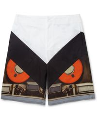 Givenchy Computerprint Bermuda Shorts - Lyst