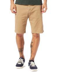 Michael Stars | Slim Fit Stretch Cotton Shorts | Lyst