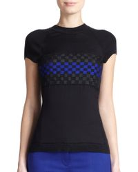 Reed Krakoff Embroidered-Front T-Shirt - Lyst