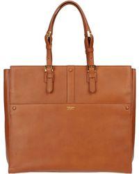 Giorgio Armani Handbag brown - Lyst