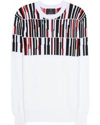 Edun Printed Sweatshirt - Lyst