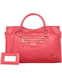 Balenciaga Giant 12 Rose Golden City Bag - Lyst