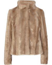 Coast Chelsea Faux Fur Coat - Lyst