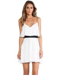 Milly Flared Tank Dress - Lyst