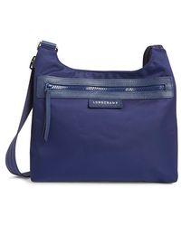 Longchamp 'Le Pliage - Neo' Crossbody Bag blue - Lyst