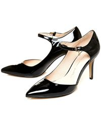 Moda In Pelle | Coria High Heeled Semi Dorsay Shoes | Lyst
