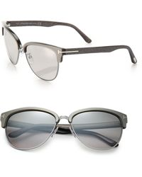 Tom Ford Fany 59Mm Square Sunglasses - Lyst