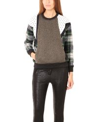 Roseanna Scott Plaid Sweater - Lyst
