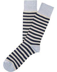 Etiquette Abbey Stripe Socks - Lyst