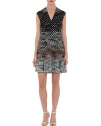 Missoni Degrade Zigzag Knit Dress - Lyst