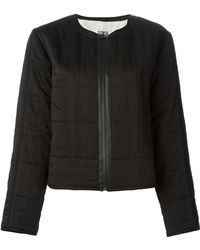 Sonia By Sonia Rykiel Black Quilted Jacket - Lyst