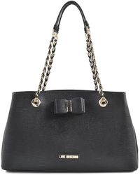 Love Moschino I Love Bow Bag - Lyst