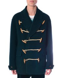 Burberry Prorsum - Toggle-Fastening Cashmere Peacoat - Lyst