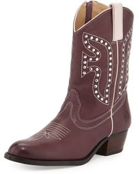 Frye Leather Rodeo Boot - Lyst