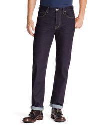 Hugo Boss Alabama Area  Comfort Fit 11 Oz Stretch Cotton Jeans - Lyst
