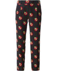Moschino Cheap & Chic T-Rex Print Trousers - Lyst