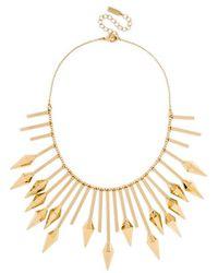BaubleBar Women'S Bib Necklace - Gold - Lyst