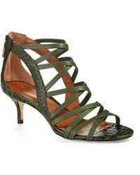 Rachel Roy Jayni Caged Sandals - Lyst