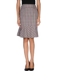 Gianfranco Ferré Knee Length Skirt - Lyst
