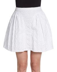 Jill Stuart Abbey Jacquard Skirt - Lyst