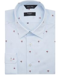 Paul Smith Mini Mushroom Byard Shirt - Lyst