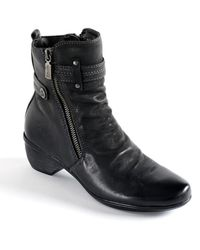 Blondo - Farima Waterproof Leather Ankle Boots - Lyst